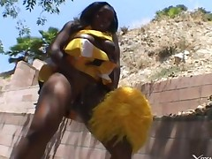 Ebony Cheerleaders 4