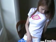 Beata Cheerleader Awaiting Her Boyfriend