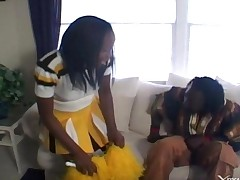 Cheerleader Ebony 1