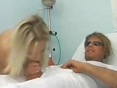 Hot Blonde Fucked By Her Doctor