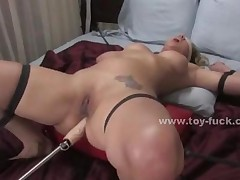 Busty Babe Nipples Sucked Then Fucked By Large Electric..