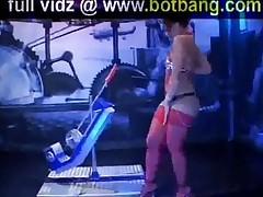 Hot Slut Takes Fucking Machine