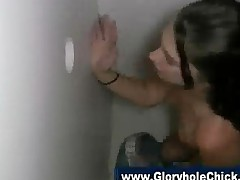 Gloryhole Amateur Slut Blowjob