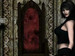 Must See 3D Gothic Anime Cgi Elf Trime Fucks Arthas Rubs..