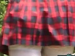 Cfnm Group British Schoolgirls Give Handjob