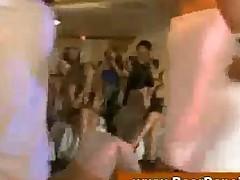 Cfnm Wives Give Handjob At Party