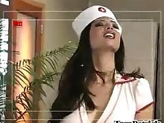 Sexy Nurse Blowjob