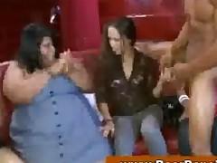 Bachelorettes At Cfnm Mega Party
