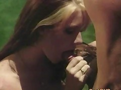 Lucky Guy Banging Horny Chick In Pool