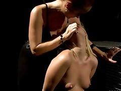 Mistress Punishing Young Blonde