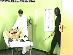 Girl Getting Punished By Her Doctor