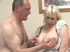 Mature bbw Jo Juggs Gets Her Big Tits And Pussy Fucked