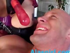 Aiden And Sasha Grey Strapon Attack Part2