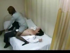 Horny Teacher Gives Student Blowjob In Health Room