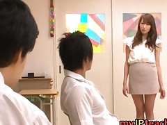 Aarisa Sawa Is Japanese Teacher Bitch