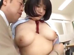 Busty Schoolgirl Getting Her Tits Rubbed Pussy Licked By..
