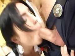 Sex Wearing A Schoolgirl Uniform And Socks