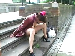 Upskirt Public Masturbation And Nude Outdoor Flashing Of..