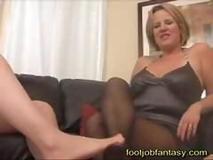 Double Milf Footjob