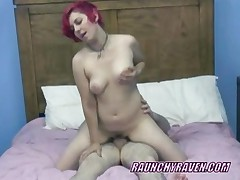 Teen Swinger Raven Fucks An Old Dude At A Party