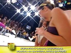 Mulher Moranguinho Cheerleaders Banheira