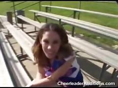 Innocent Cheerleader!