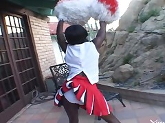 Interracial Porn Ebony Cheerleader