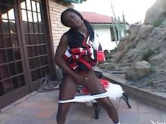 Interracial Porn Ebony Cheerleader
