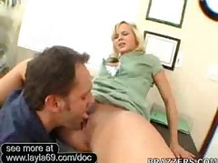 Bree Olsen Gets Her Pussy Spread Apart Hard By Doctors Dick