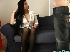 Cfnm Femdom Girl Give Blowjob