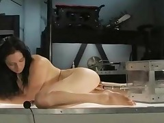 Brunette Busty Tatooed Babe Fills Her Pussy With Unstoppable..