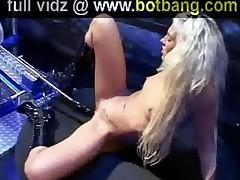 Sexy Girl Takes Fucking Machine