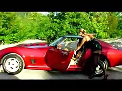 Lesbians Do It On Red Car