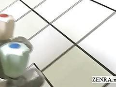 Busty Japan Bath House Nudist Cleaning And Sponge Bath