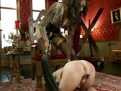 Divine Bitches Black Mistress Nyomi Banxxx Punishes Her..