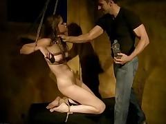 Young Slavegirl Getting Bonaged And Punished