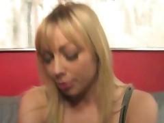 Sexy Adrianna Nicole Punishes Two Black Thugs