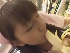 Asian Girl Dressed A Nurse Uniform Has Sex In Public