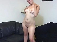 Masturbation Teacher Gets Totally Naked For Cock Teasing