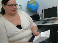 Plump Teacher Fucks Her Stud