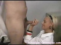 Petite Coed Fucks With Teacher