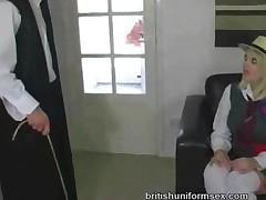 Shay Gets Fucked In Uniform