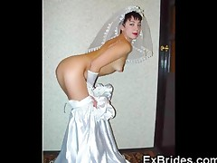 Sexy Brides Show Everything