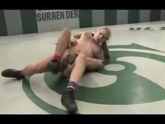Naked Babes Wrestling For Pussy