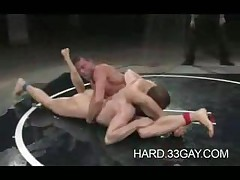 Jocks Wrestling In The Ultimate Battle Of Cock