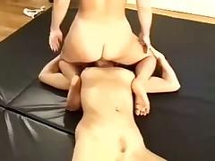 Lesbian Sexfight
