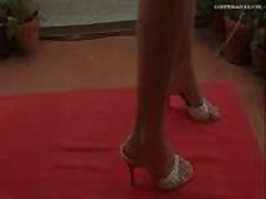 Goddess Kicks Cruel Heels CBT