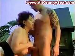 Old Granny Fucked