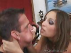 Punishing her BF with Strapon