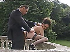 Italian Brunette Fucked